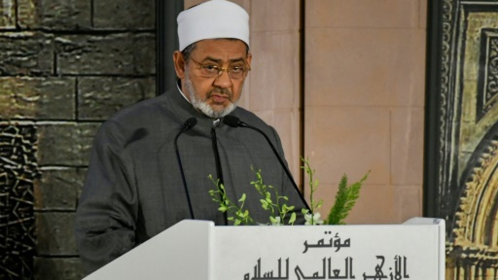 Grand imam of Egypt's Al-Azhar cancels meeting with US VP https://t.co/AfbHXTtUo8