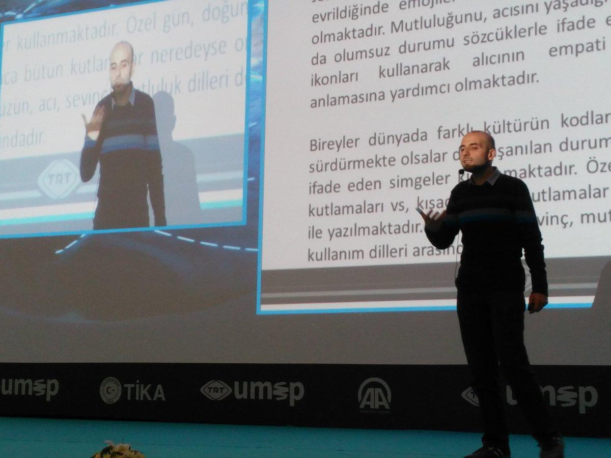 RT @ekremdir: .@alimuratkirik @TRTumep te emoji kültürü anlatıyor. https://t.co/2Z60fGr779