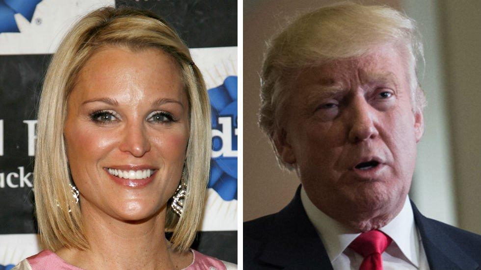 Бывшая ведущая Fox News сообщила о попытке Трампа поцеловать ее в губы