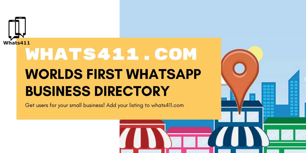 WhatsApp Business Directory (@whatsapp411)   Twitter