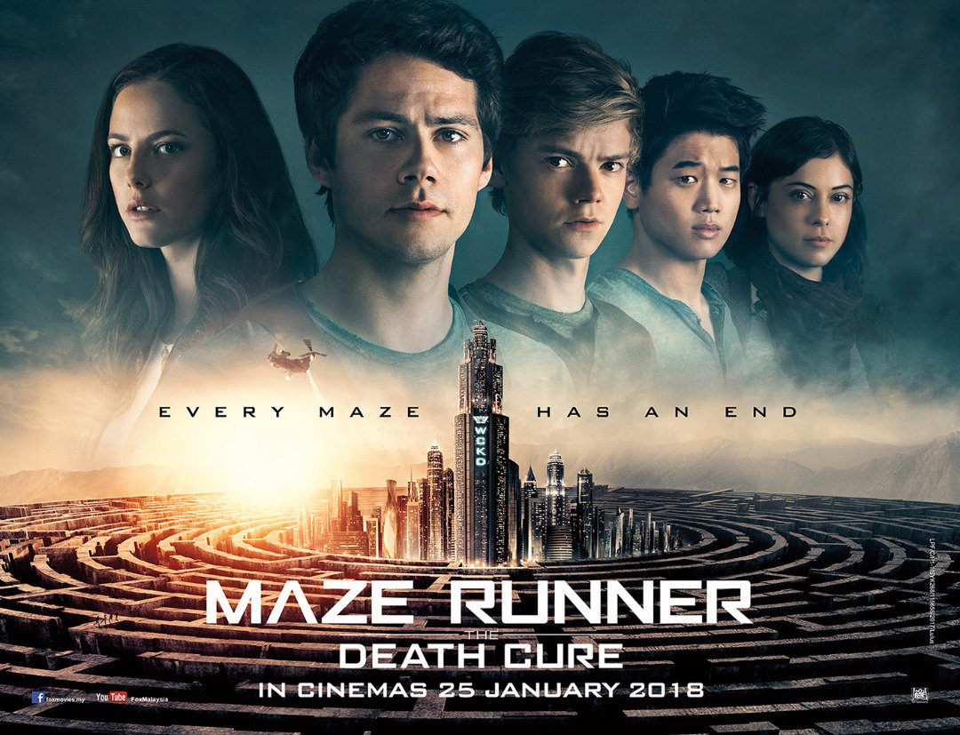 Image result for maze runner the death cure