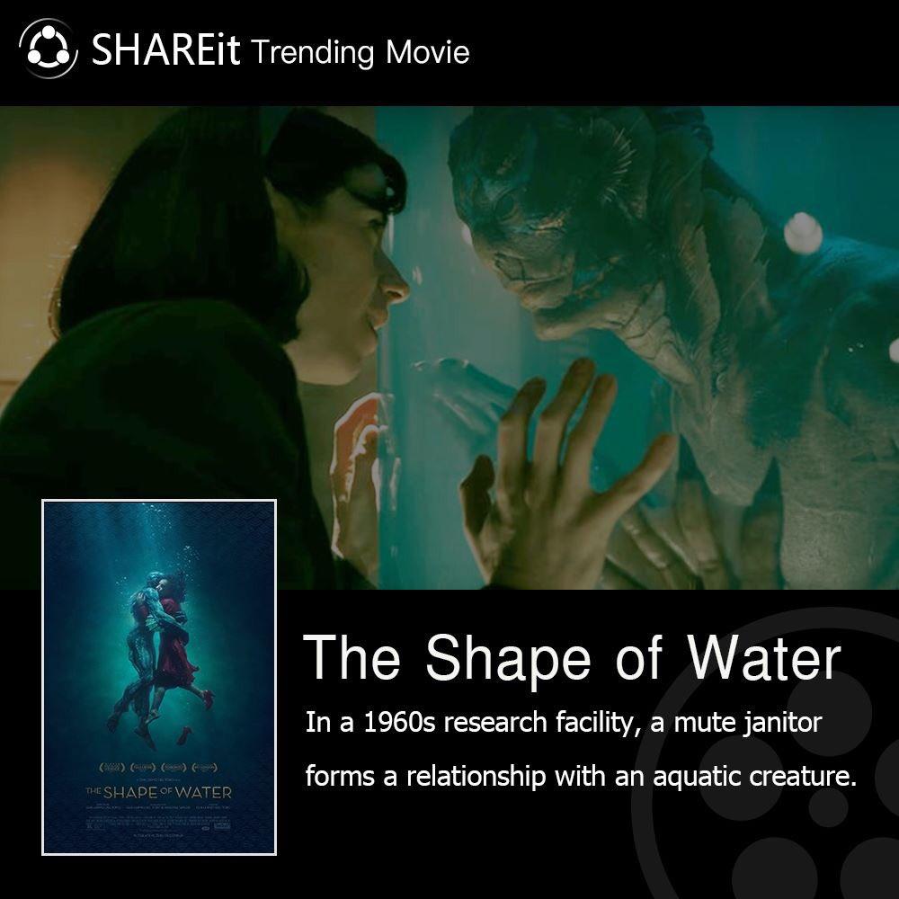 #SHAREmovie The Shape of Water Trailer:  https://www. youtube.com/watch?v=XFYWaz blaUA &nbsp; … <br>http://pic.twitter.com/2HEYkvAOYF