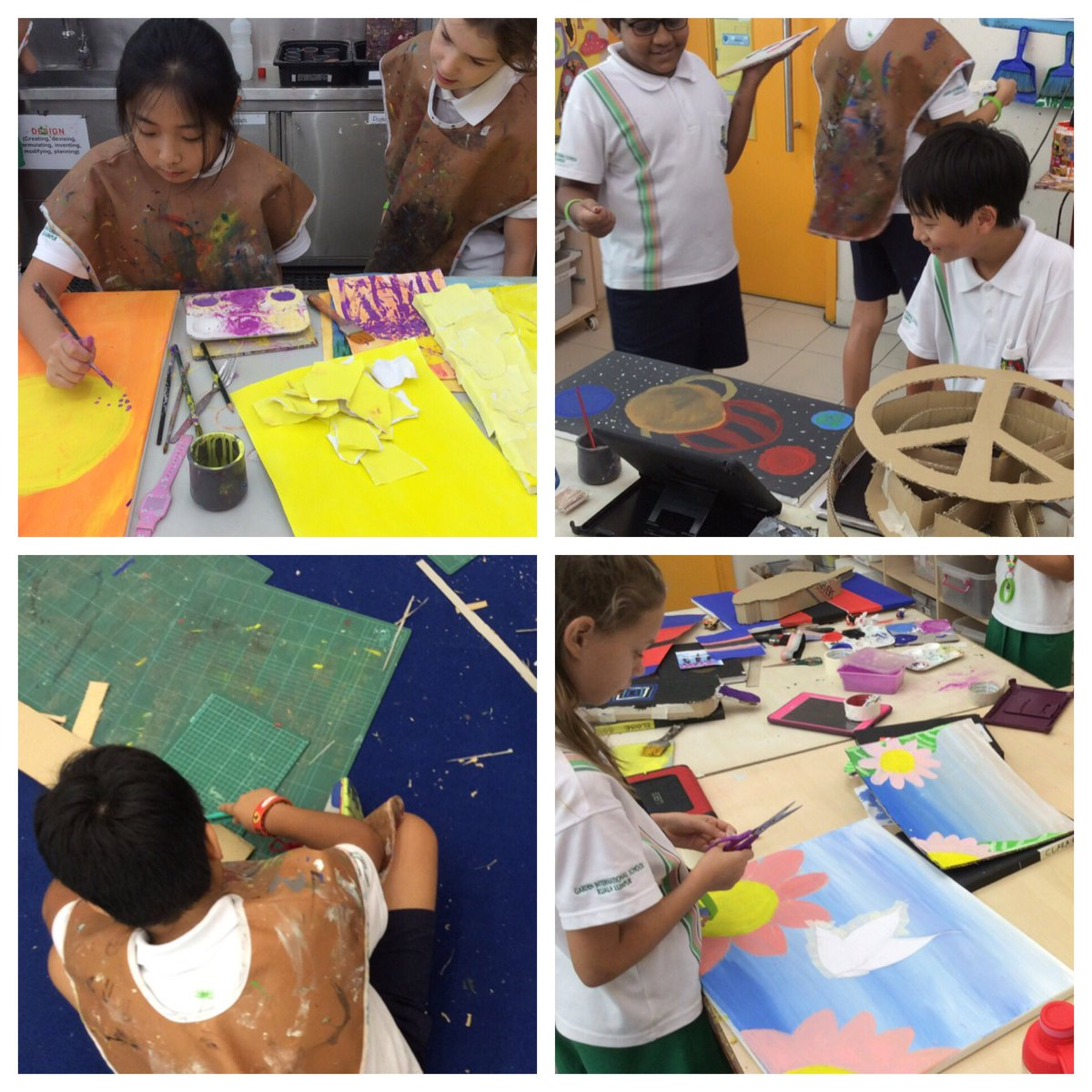 It's an honor to watch year 6 produce the final pieces at the end of their creative journey. The exhibition, with their e-books to explain their learning process, is going to be amazing  #GISlearning @rocco_gianluca<br>http://pic.twitter.com/lDpmVE0VLQ