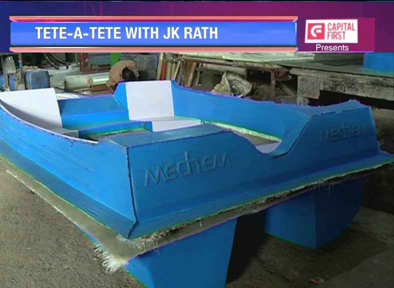 Tonight at 8 pm on @LOT_ETNow we feature #Mechem; a leading manufacturer of Boats in Bhubaneswar, Odisha. JK Rath, Director, Mechem talks about #IP for the manufacturing industry & their growth plans amongst other things. #LOT