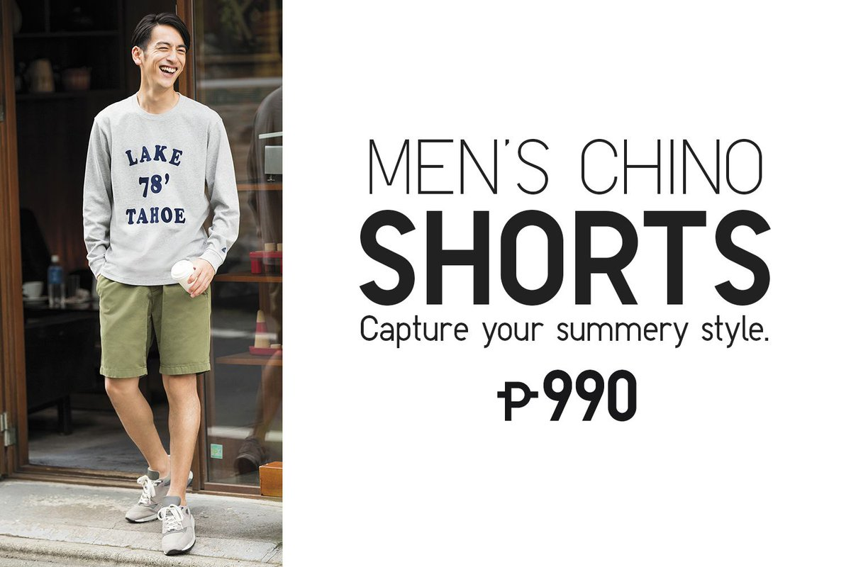5544c93dcc ... our Men s Chino Shorts is essential to any summer outfit. Grab yours  today! More colors here  http   bit.ly 2k9k6b4 pic.twitter.com RBcgQvoUHU