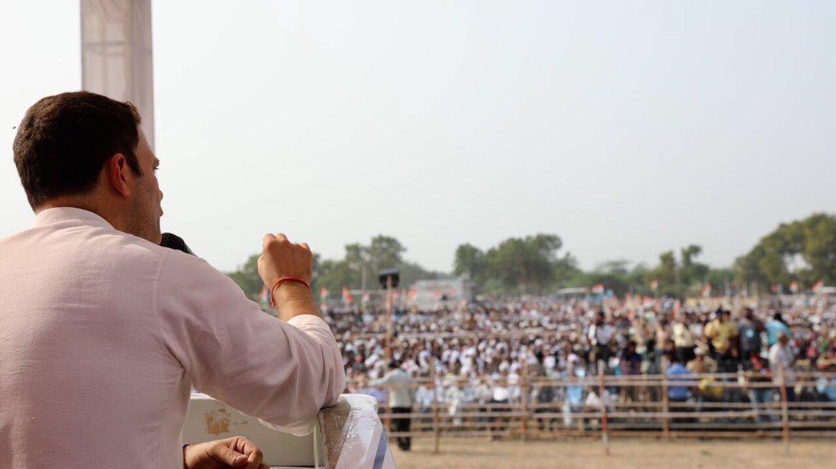 Navsarjan with Congress VP Rahul Gandhi...