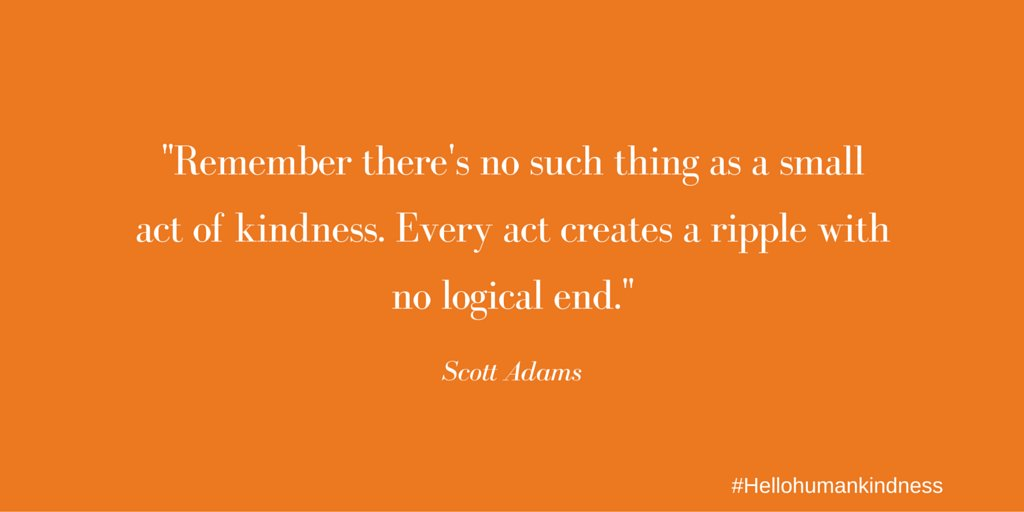 RT @DignityHealthAZ: #AGoodDayIncludes Kindness. https://t.co/FUwUIwQkRJ