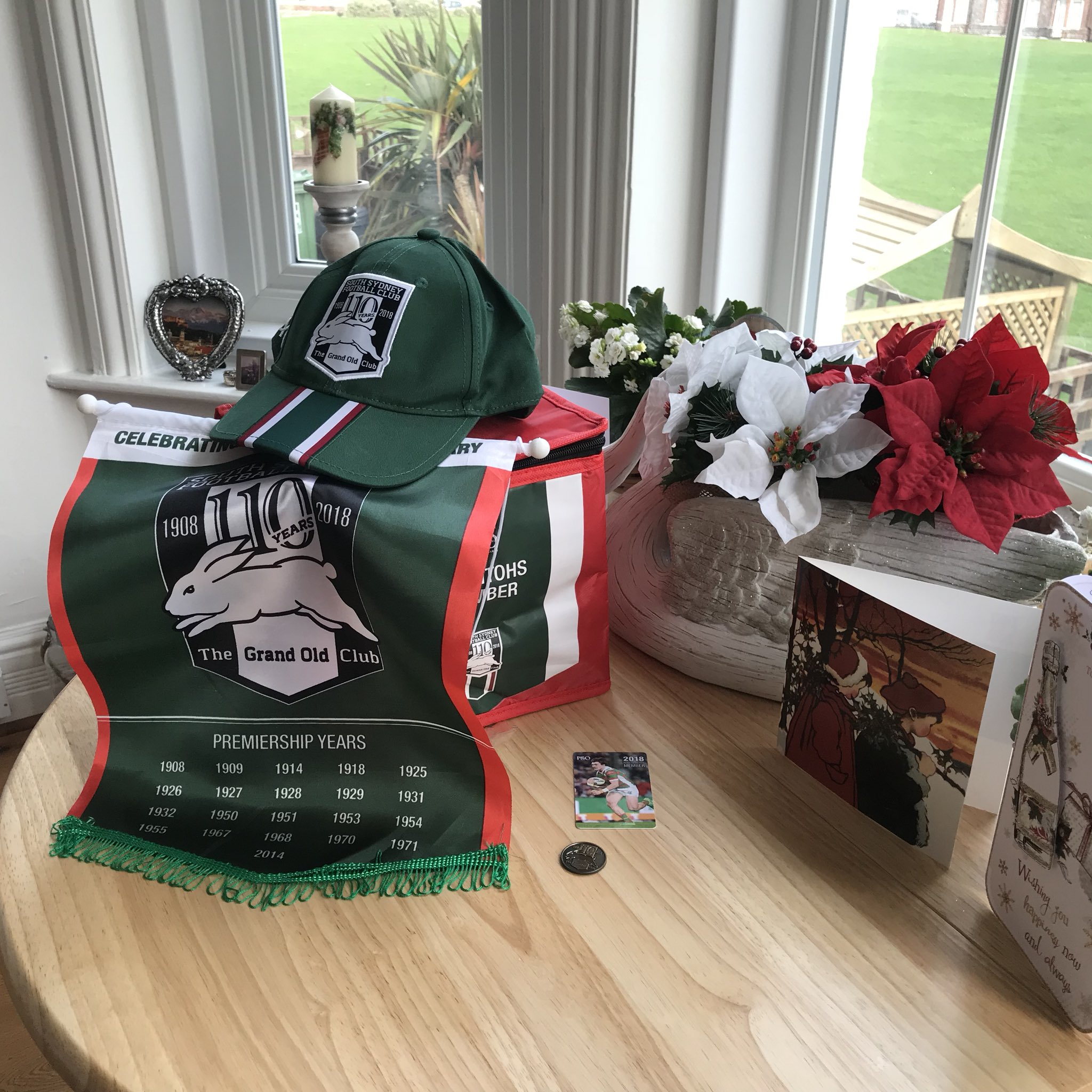 RT @izzygie10: Well it certainly feels a lot like Christmas 🎉🐰❤️ You have made my day 🎁@SSFCRABBITOHS  @russellcrowe https://t.co/4xfaaTFKP1