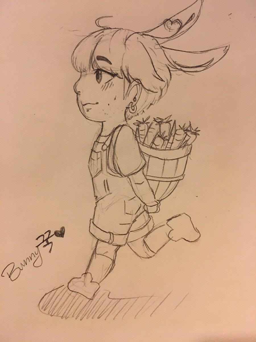 I really liked @yuniizu's bunnykook with...