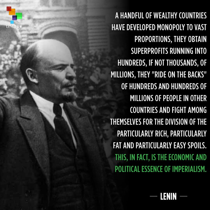Today marks International Anti-Corruption Day. Here's a reminder of the strong ties between corruption and imperialism, which Lenin had already pointed to in 1916.