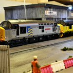 Visitors and based locos on depot. 37025/37710/37412/50007