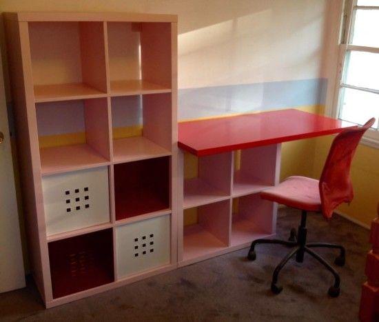 Ikea Decora On Twitter Bureau Enfant Ikea Kallax Linnmon