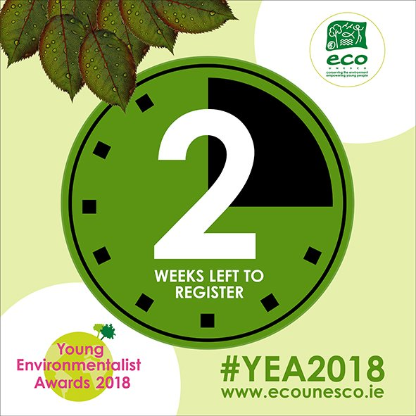 Eco Unesco On Twitter Eco Unesco Young Environmentalist Awards