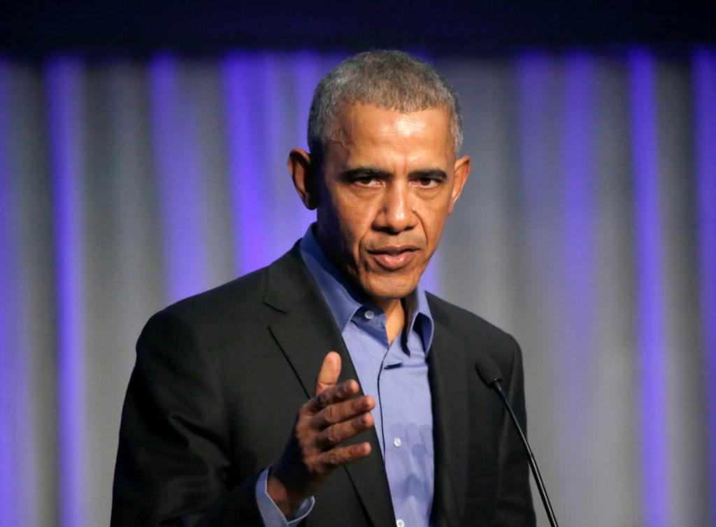 Former President Obama: Protect democracy or risk following the path of Nazi Germany https://t.co/yxWT69Ipxk