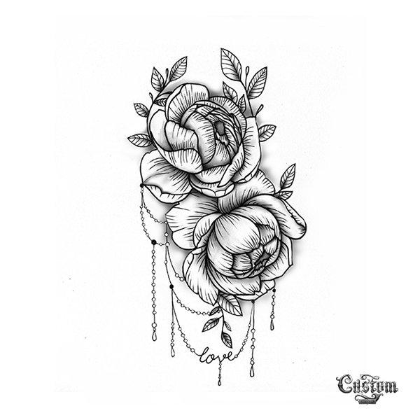 bc87e1b7cc7d0 Custom Tattoo Design on Twitter: