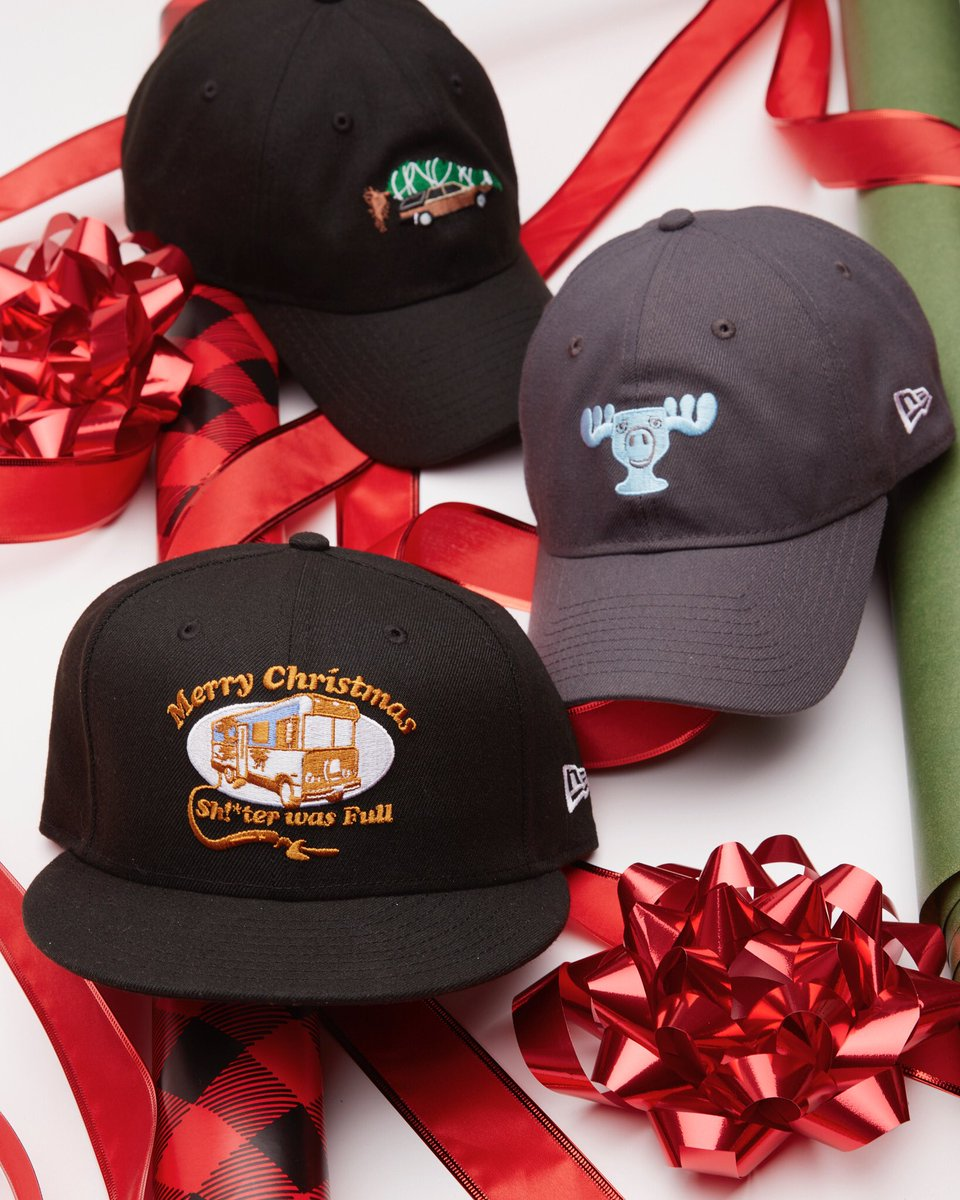 "New Era Cap on Twitter: ""Top off that ugly sweater with some holiday movie favorites. A Christmas Story and National Lampoon's Christmas Vacation #NewEraCap ..."