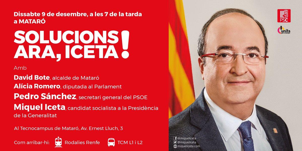 📢🚎 Aquesta tarda, cap a #Mataró!   ⏰ 19h...