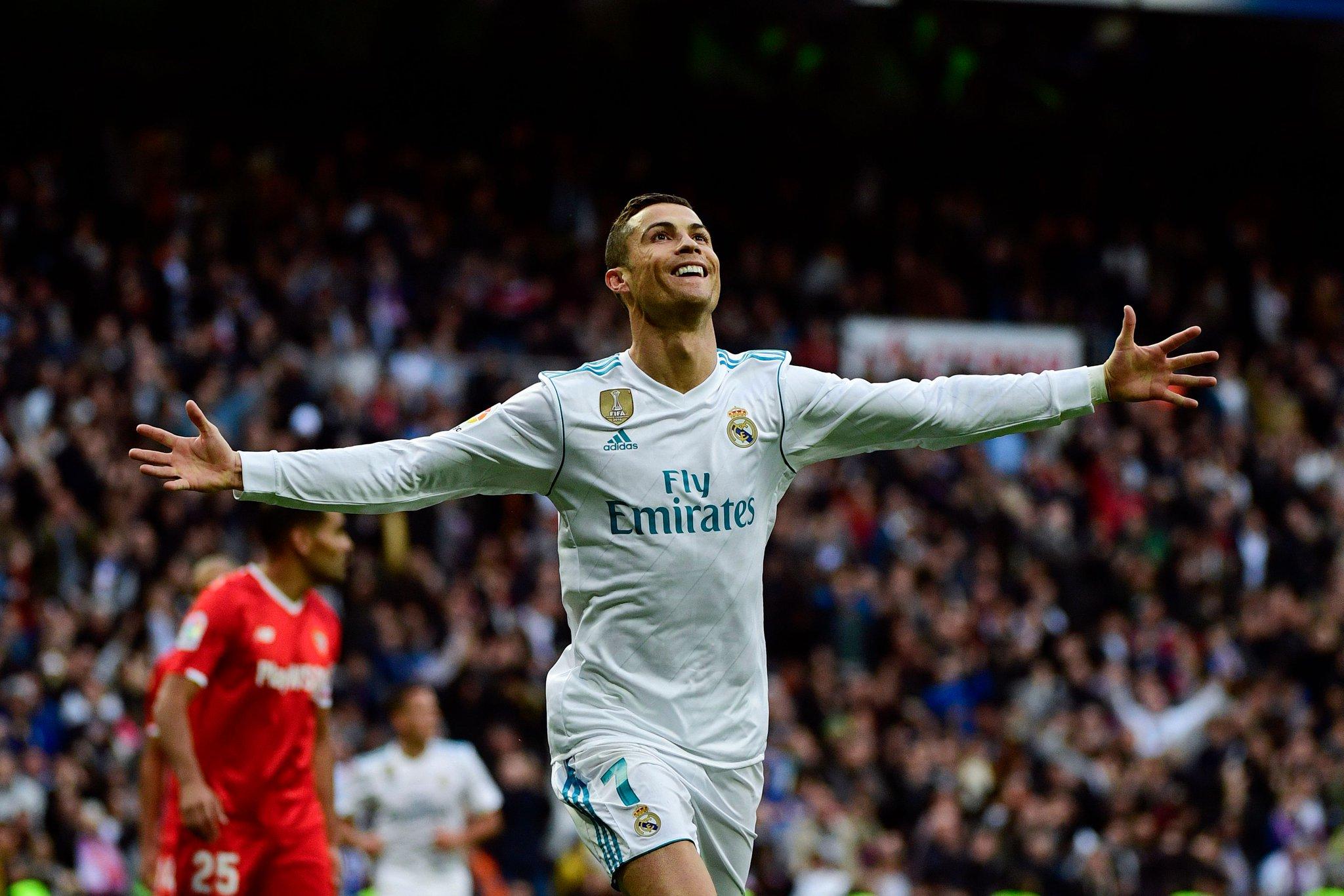 هدف ريال مدريد الثالث في مرمى إشبيلية