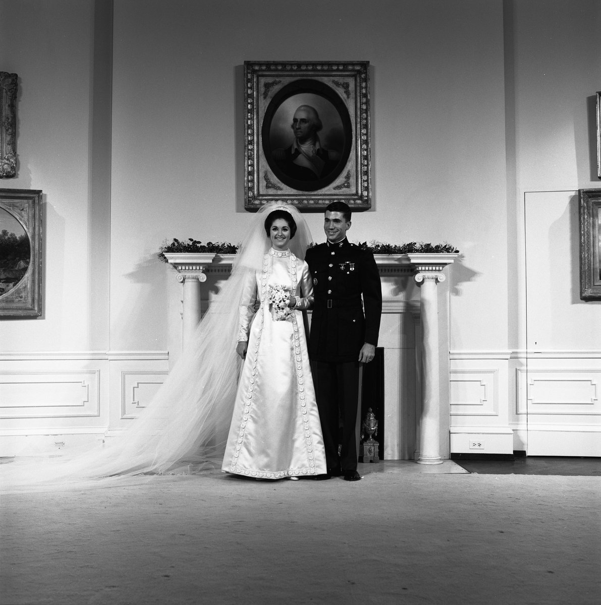 9 1967 Lbj S Daughter Lynda Johnson Married Capt Charles Chuck Robb At The Time It Was First White House Wedding Of A Presidential Son Or