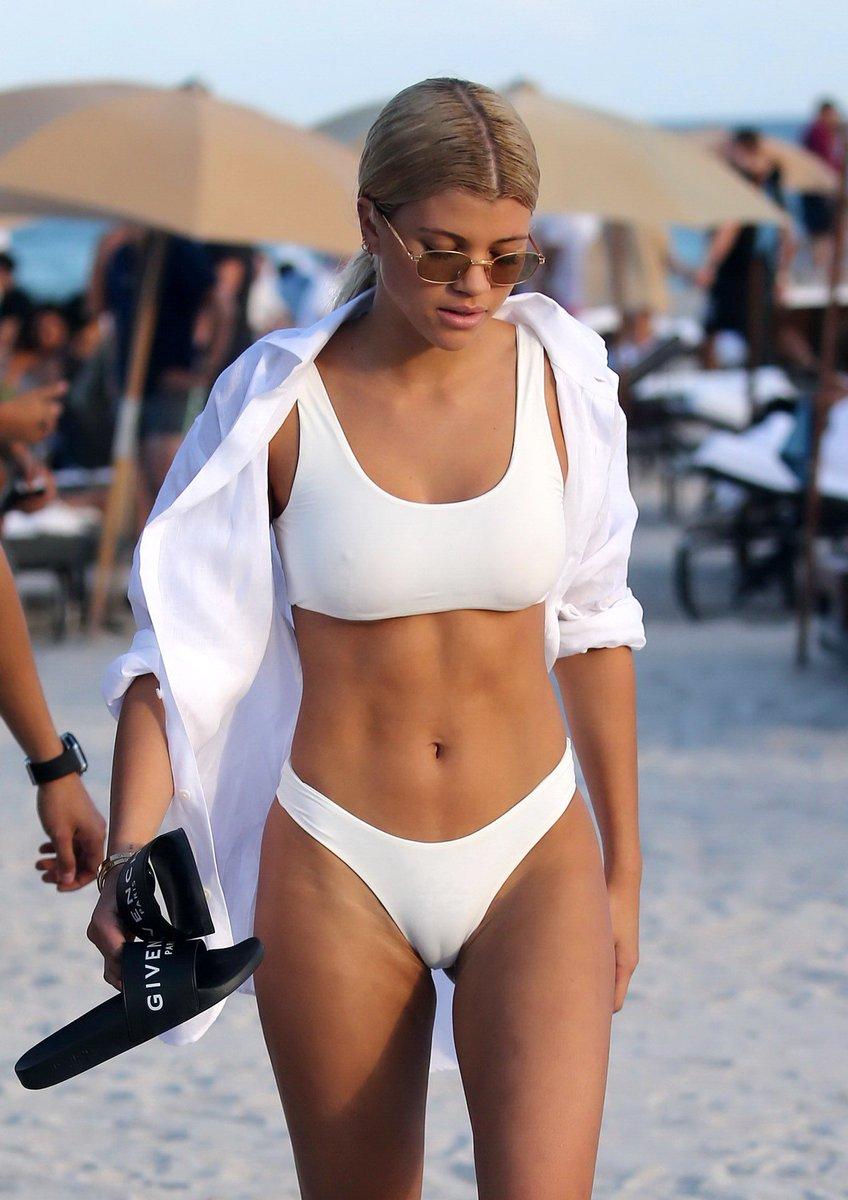 white bikini wet