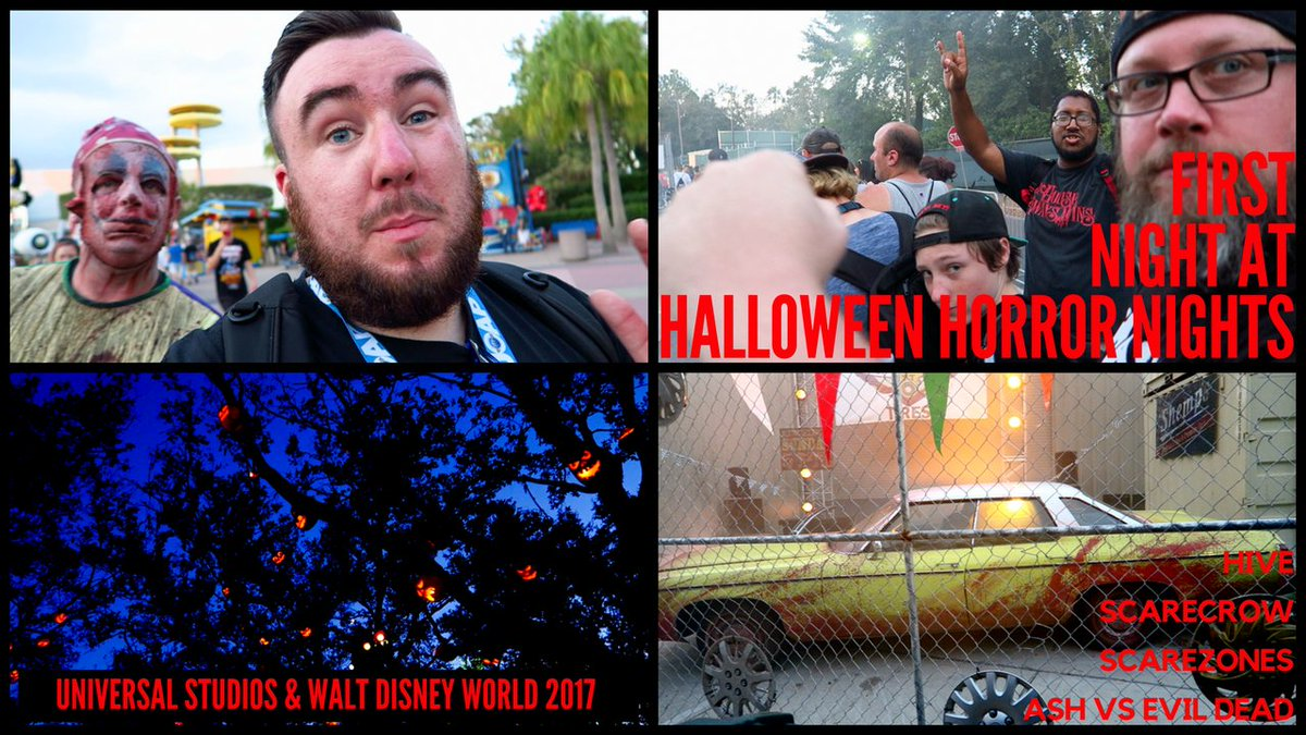 FLORIDA VLOG GOING UP EARLY IN THE NEXT HALF HOUR! Lot&#39;s of Funn At @HorrorNightsORL #hhn27 <br>http://pic.twitter.com/lMs1j0y8yx
