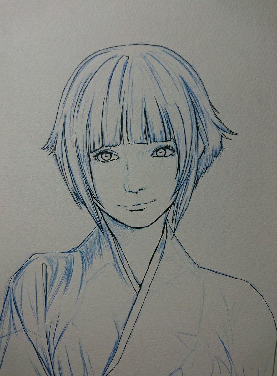 スーパードクターk On Twitter Naruto 日向 ヒナタ アナログ絵