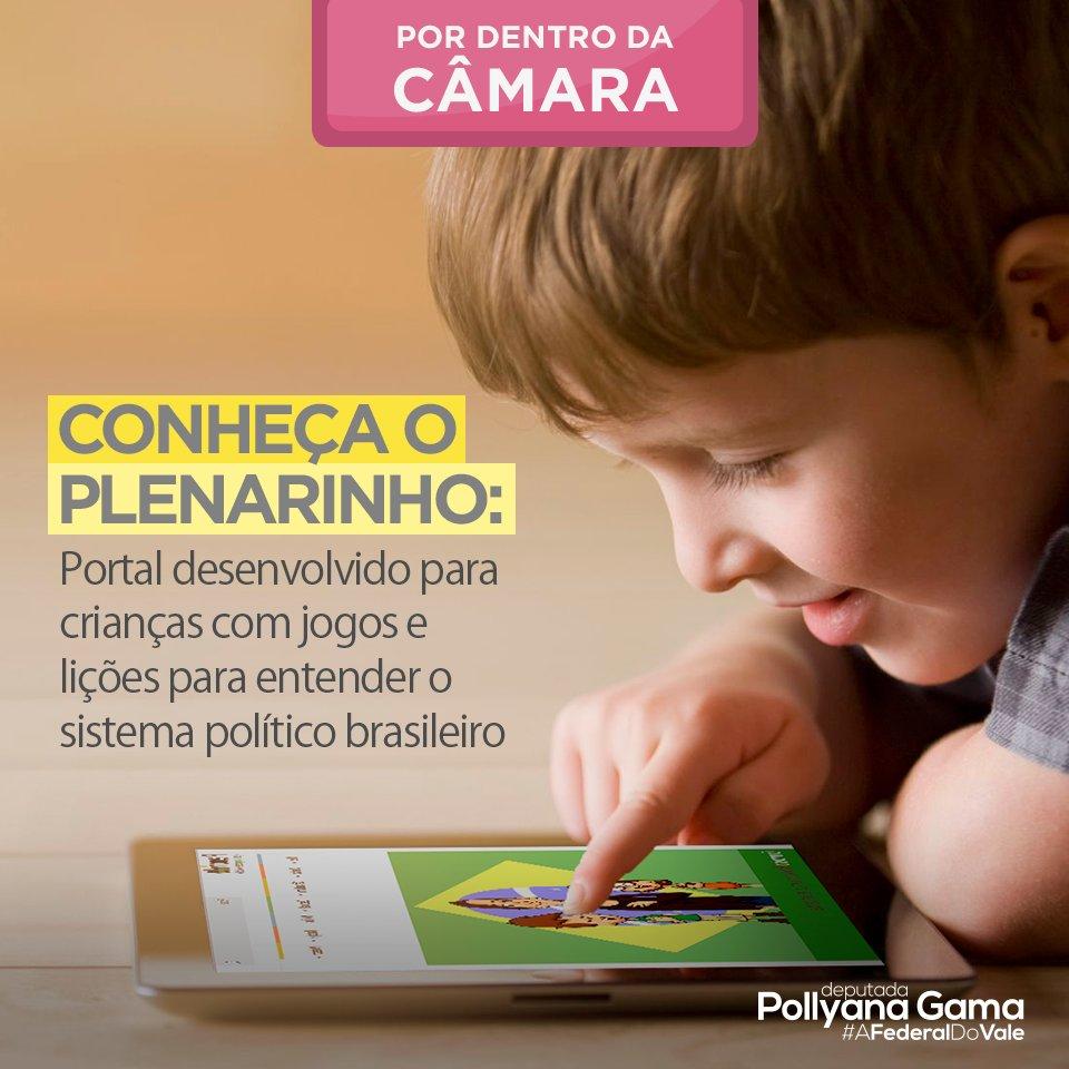 test Twitter Media - Conheça o Plenarinho, portal desenvolvido para crianças com jogos e lições para entender o sistema político brasileiro: https://t.co/Nb0NrOvARP. #AFederalDoVale https://t.co/3x6Zto6v1C