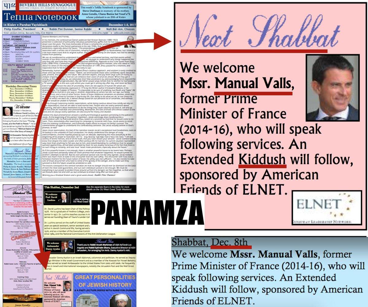 Valls célèbre secrètement une fête juive à Beverly Hills