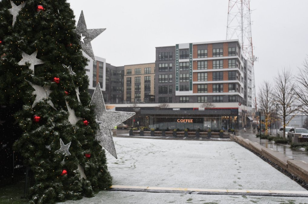 It certainly looks like a winter wonderland in Fairfax County today! (Photo, Fairfax County Government)