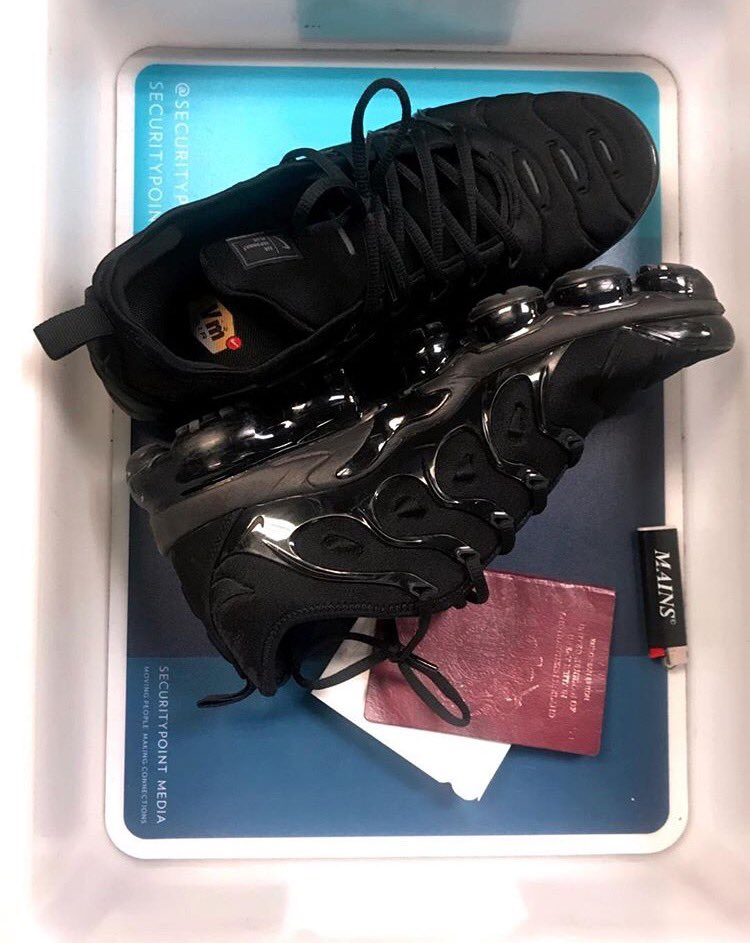 af21eece47d skepta got his hands on the nike vapormax plus are you feeling this new shoe
