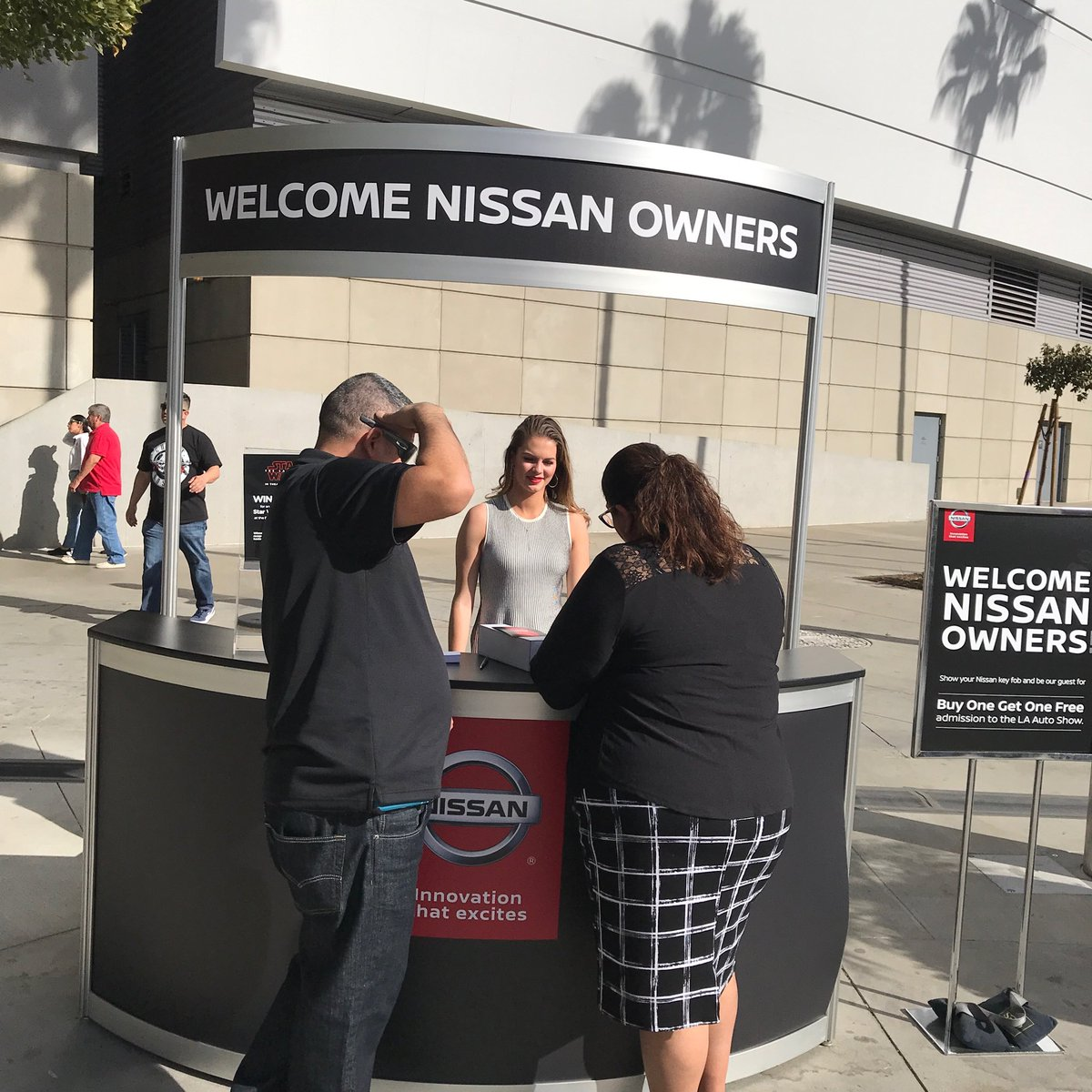 "karina valdez on twitter: ""nissan owners, show your key at the"