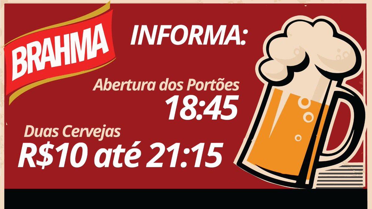 Fala, Nação! Chegando cedo no Maracanã na quarta-feira vocês podem aproveitar essa promoção dentro do estádio!  🔞 Menor de idade não pode!  Aprecie com moderação.