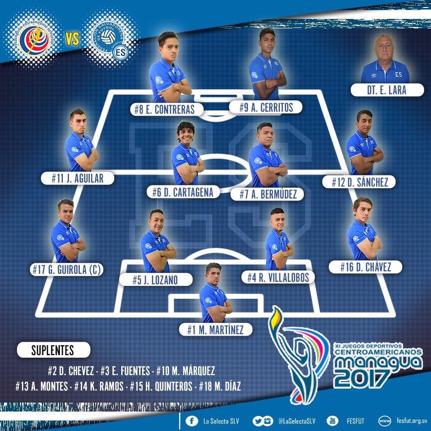Sub21: Juegos Centroamericanos - Nicaragua 2017. [Medalla de Bronce] DQoqVZxWAAAYUD0