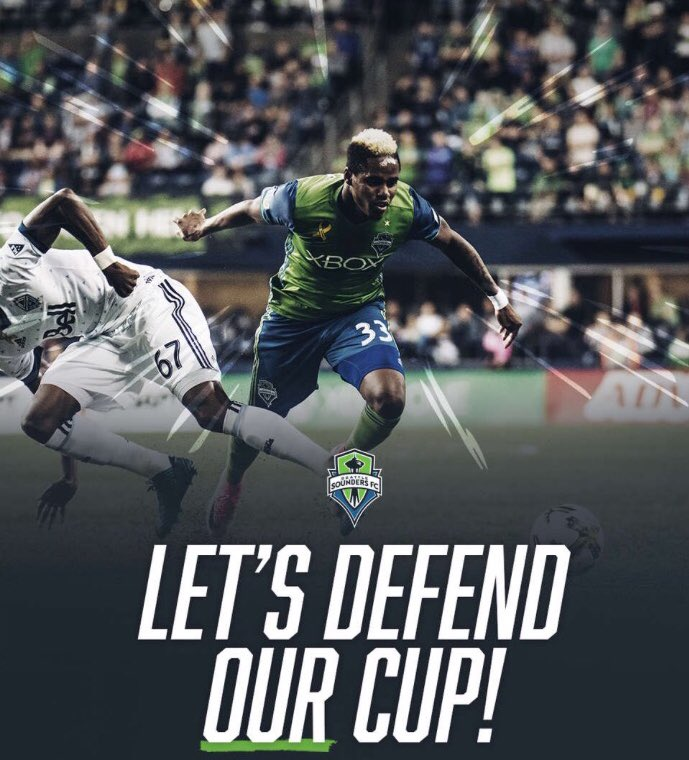 This is it, @SoundersFC!   It's time to...