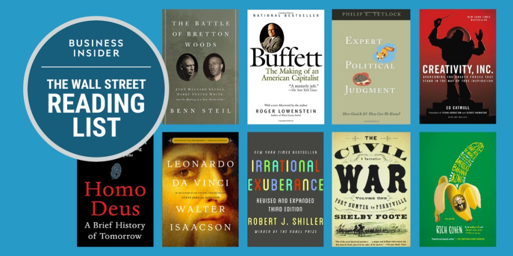 24 books Wall Streeters think everyone should read http://read.bi/2kbmle4