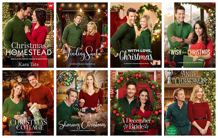 I'm beginning to think Hallmark might have a formula for their Christmas movie posters. https://t.co/w1uGBSwlFI