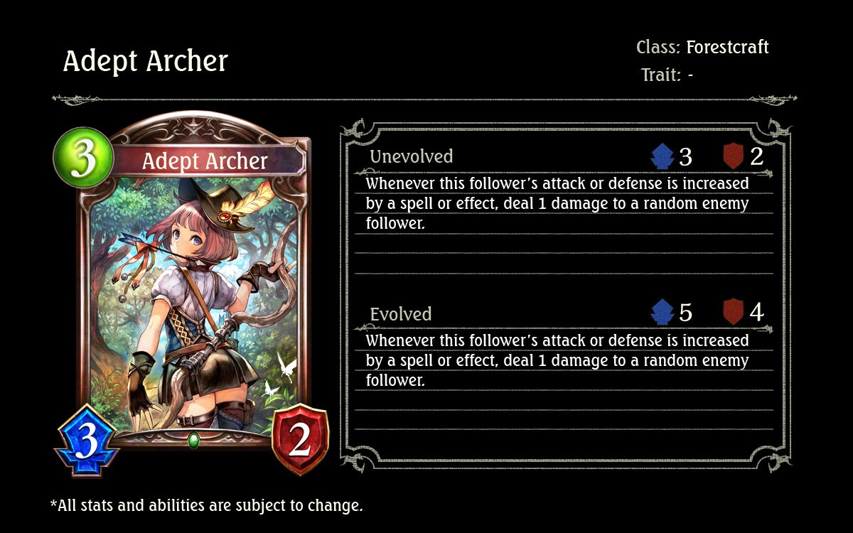 Image result for adept archer shadowverse
