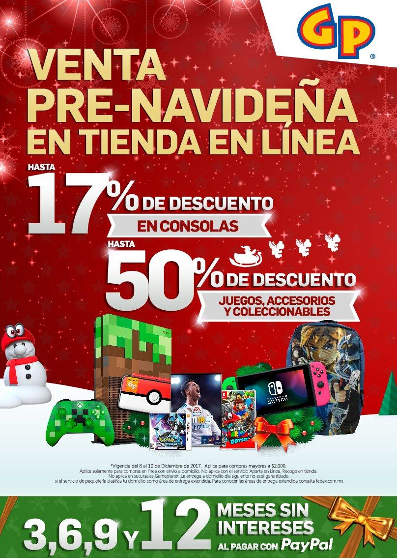 Recuerda que en GamePlanet tenemos una venta pre-navideña exclusiva de la  tienda en línea. ¡Puedes pagar a meses sin intereses! Consulta nuestro  catálogo de ... d1759b3b500