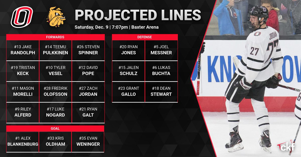 Omaha Hockey On Twitter Here Is Tonight S Lineup For Game Two
