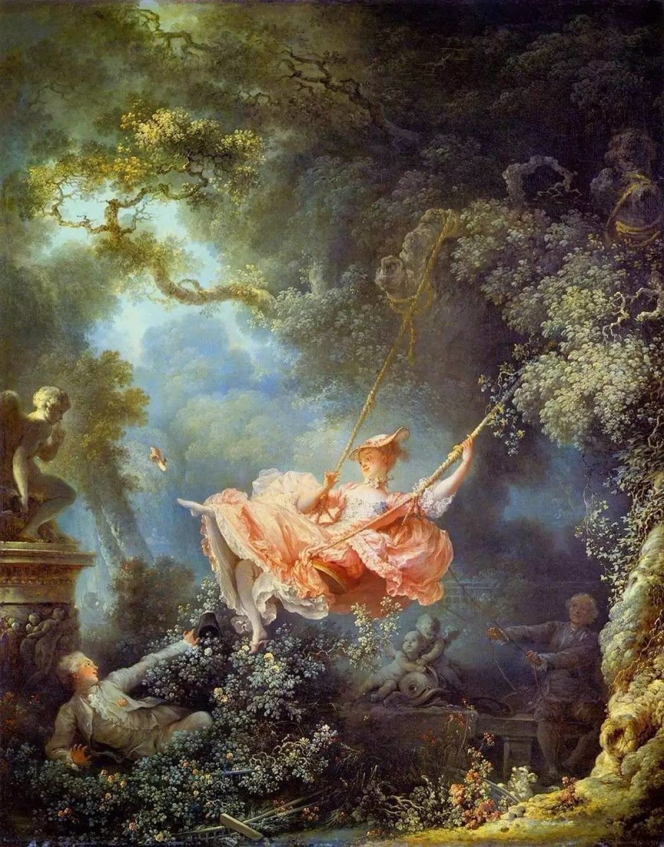 Jungkook as The Swing by Fragonard https...