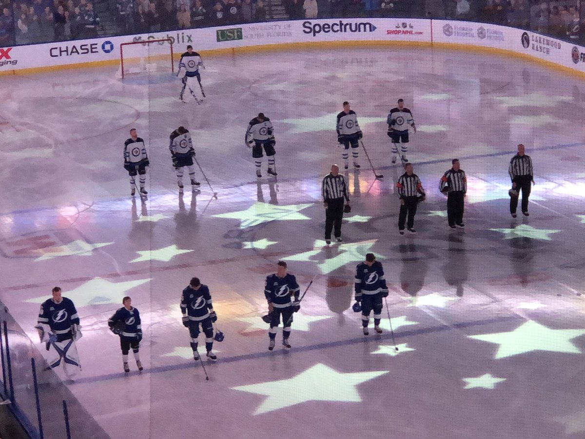 Kayleigh Mcenany On Twitter No Kneeling At The Tampa Bay Lightning Game Let S Go Bolts