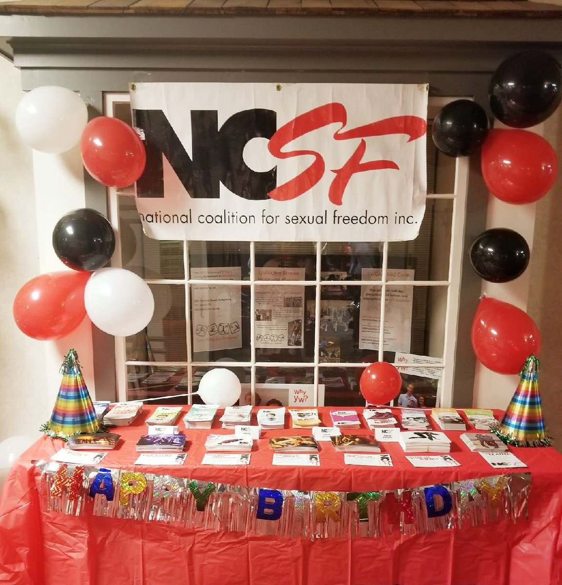 Come check out super festive table at #NaughtyNoel!...