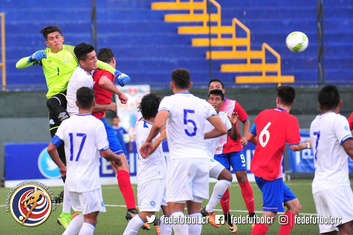 ce00c03b7857c La Selección Sub-21 de Costa Rica empató sin goles este sábado ante su  similar de El Salvador en la triangular B del fútbol masculino de los Juegos  ...