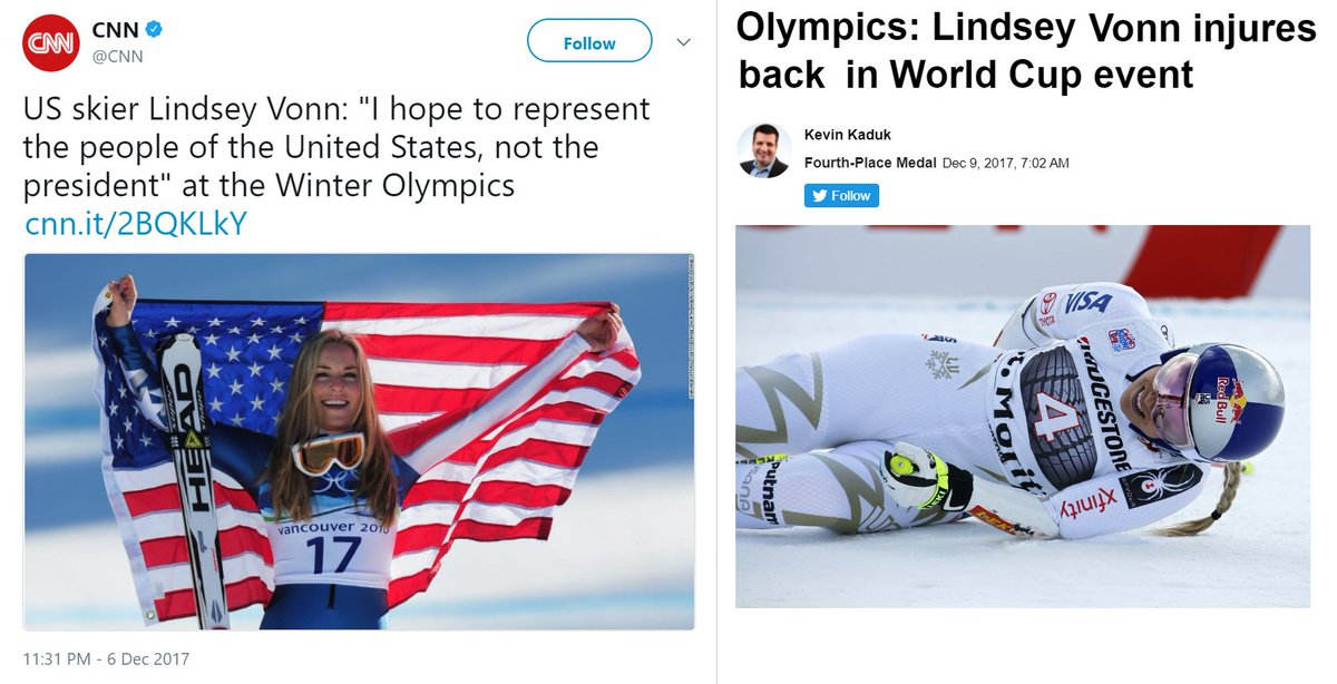 RT @DaveNYviii: Life comes at you fast. #LindseyVonn edition https://t.co/GPPmseI1df