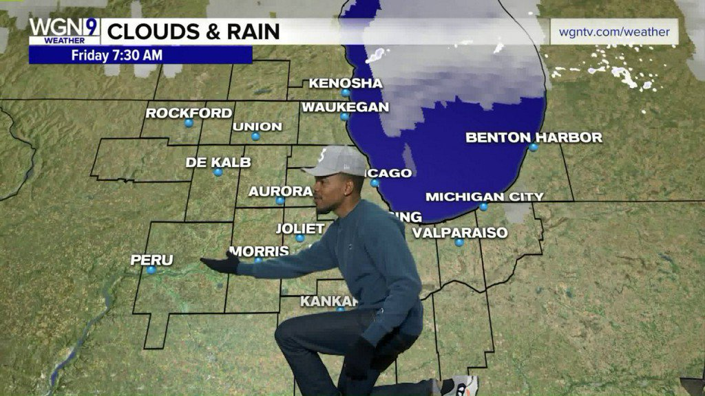 Chance the Rapper tries his hand as a TV weatherman https://t.co/IBJRJwHyTK