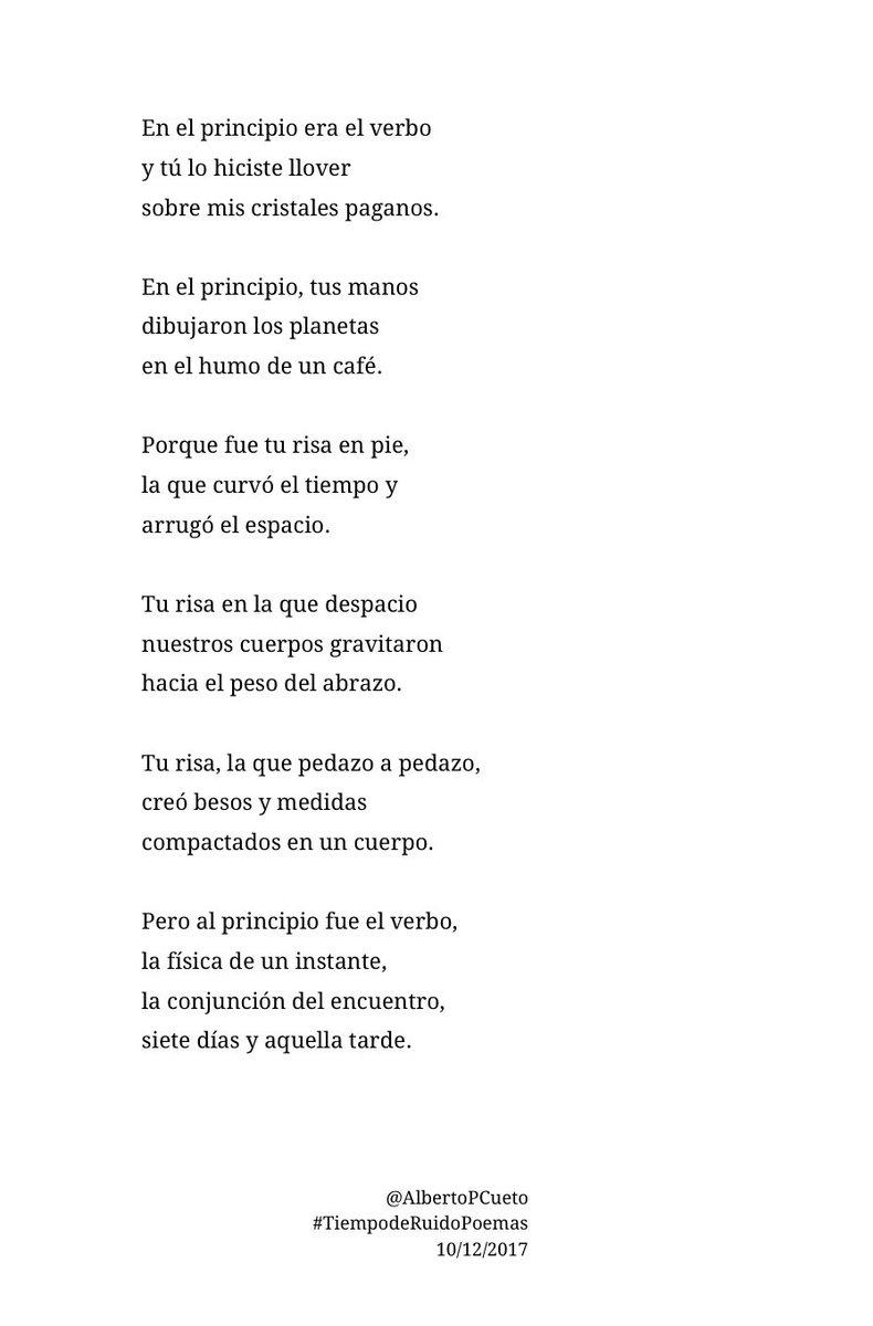 Alberto Pérez Cueto On Twitter En El Principio Era El