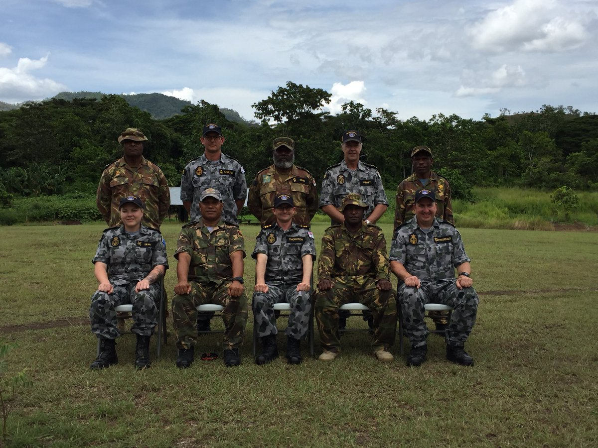 @Australian_Navy PNG Instructors & R...
