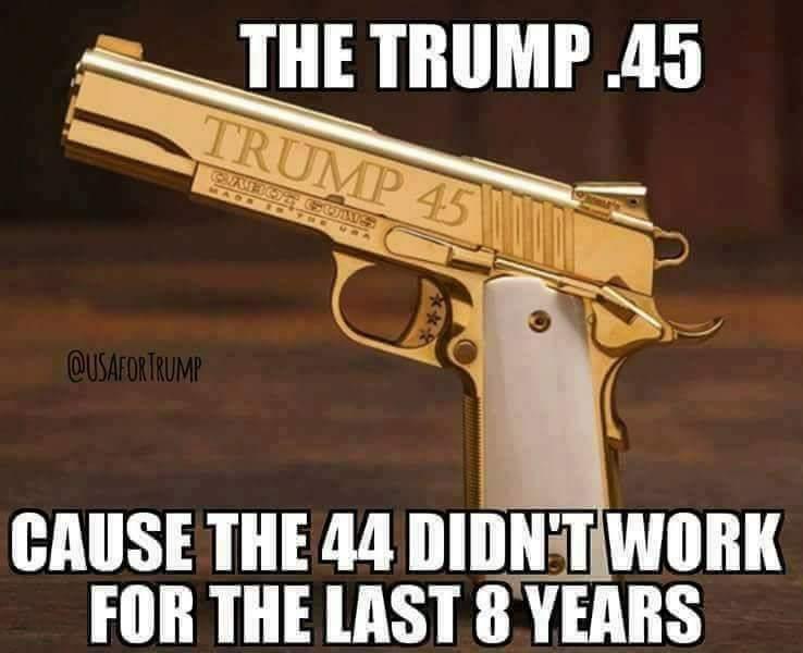 TRUMP .45 FUN - BECAUSE THE .44 DIDN'T W...