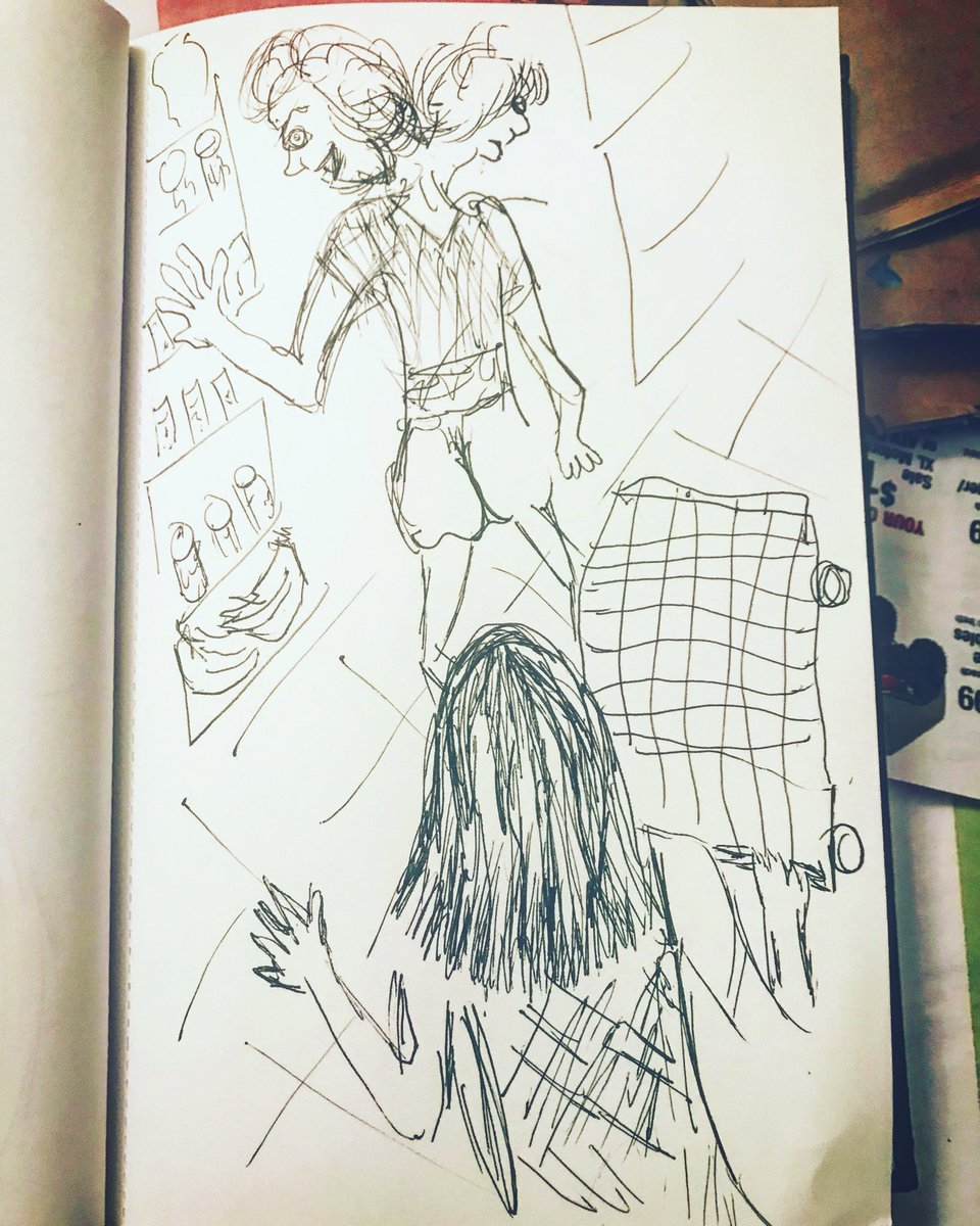 "5. ""The Hierophant"" . . .  #art #paint #creatrix #artist #artistrising #selflove  #StoryTelling  #Tarot #wildwomanrising #wisewomanrising #witchrising ✨🖤🌱🧚🏽♂️🎨"