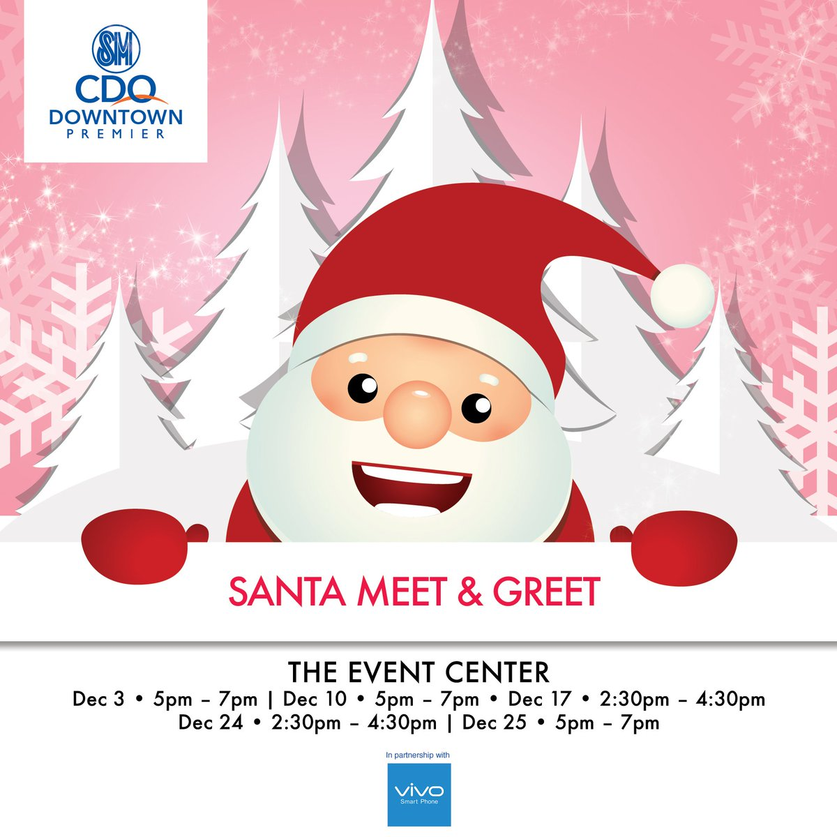 Sm Supermalls On Twitter Meet And Greet Santa Claus Today At